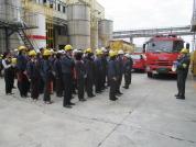高鼎精密材料股份有限公司 - 與工業區消防隊合辦全廠緊急應變演練