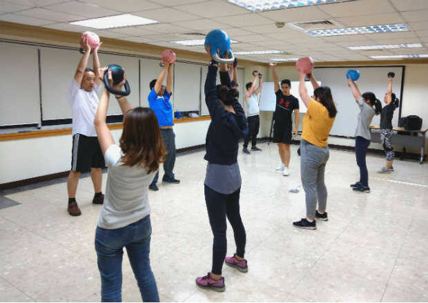 可成科技股份有限公司 【壺鈴運動,經專業教練帶領學習如何有效運動】