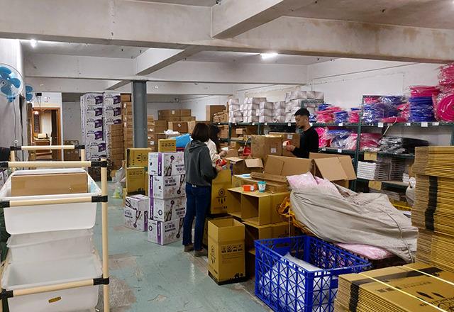 捕夢網數位生活有限公司 【2F倉儲空間 貨物整齊擺放檢貨方便】