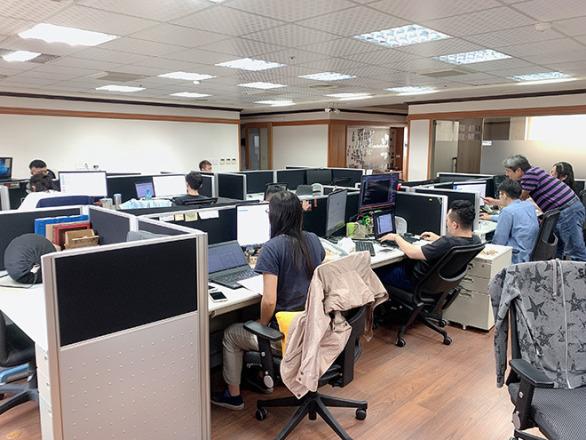 今網資訊科技股份有限公司 【寬敞的空間】