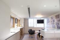 開務聯合建築師事務所 【來個點心?員工休息區喝杯咖啡來片餅乾吧。】