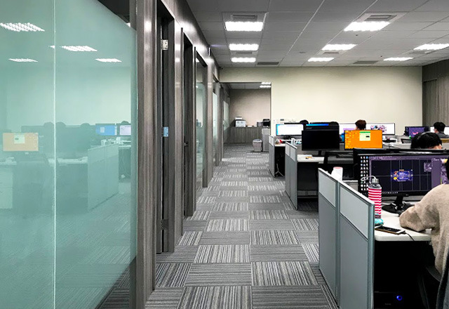 邑冠資訊有限公司 【辦公室功能分區-大辦公區】