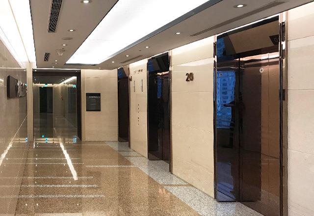 邑冠資訊有限公司 【大樓電梯公共空間】