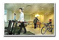 鈺創科技股份有限公司 - 明亮舒適的健身中心