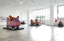 龍巖股份有限公司 - 汐止總部一樓藝術大廳