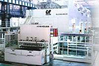 金豐機器工業股份有限公司 - 金豐為豐田汽車集團生產的AO級2400噸汽車鈑金沖壓線;也是最早且唯一具有獨立設計製造此類產品的沖鍛壓設備廠