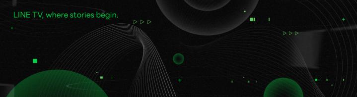LINE TV_巧克科技新媒體股份有限公司 - 企業形象