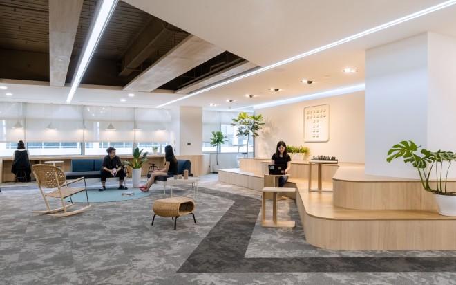 新加坡商鈦坦科技股份有限公司台灣分公司 【寬廣的開放空間,讓你想換個地方工作、想坐著談天說地、想躺著作白日夢都毫無拘束!】