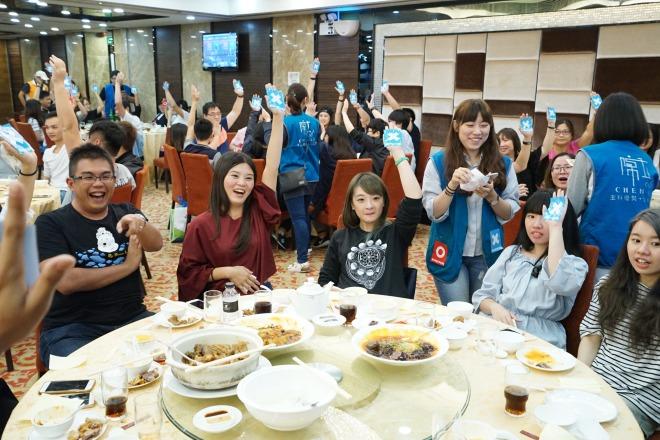 陳立教育事業股份有限公司 【放下工作愉快的聚餐】