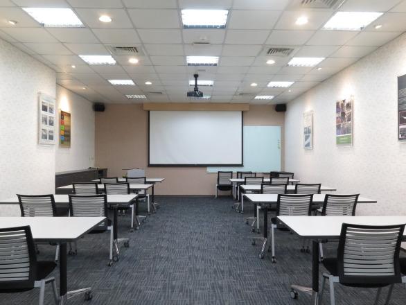 InvenSense Inc_應美盛股份有限公司 【多功能訓練教室內部實景】
