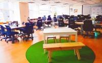 眾匯智能健康股份有限公司 【我們致力於打造一個自在、開放和透明的工作環境,空間設計及色彩,融合了科技與人文】