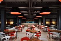 漢民科技股份有限公司 【寬敞的用餐區提供營養均衡、食材天然的午餐】