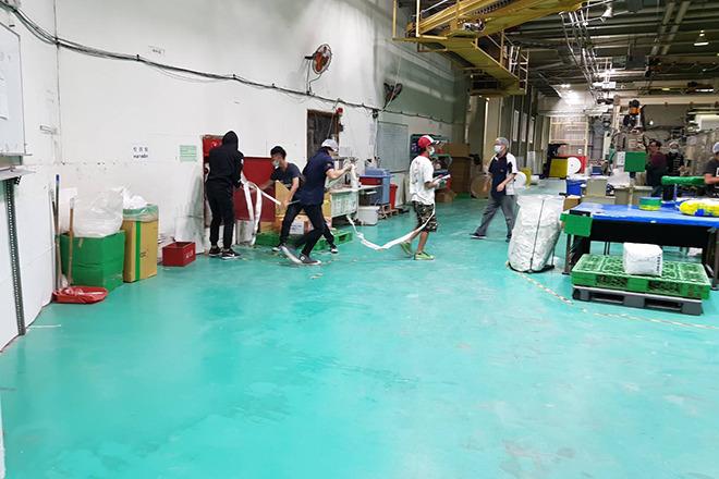 富堡工業股份有限公司 【工廠消防演練】