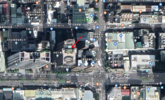 林若娟建築師事務所 【辦公大樓位置】