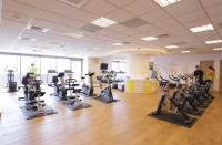 全球人壽保險股份有限公司_總公司 【全球人壽員工專屬健身房設備相當齊全,帶動員工運動風氣。】