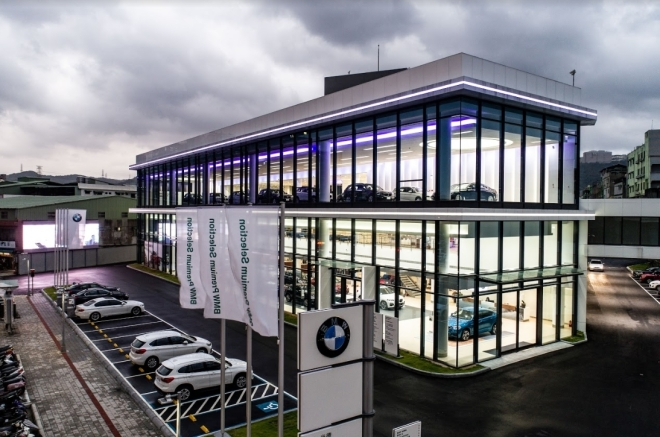 BMW經銷商_尚德汽車股份有限公司 環境照