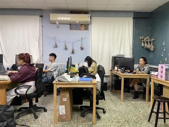天開企業社 【辦公室內部一景】