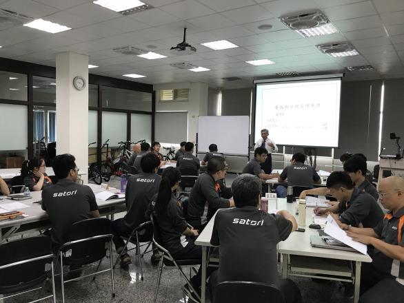 信隆車料工業股份有限公司 【教育訓練室】