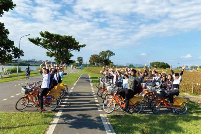 綠洲餐飲管理顧問股份有限公司 【Team Building-大佳河濱公園騎單車】