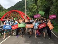 香港商聯寶電腦有限公司台灣分公司 【團隊溯溪去 凝聚向心力 】