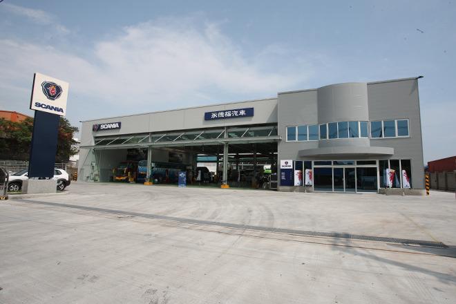 Scania_英屬維京群島商永德福汽車股份有限公司台灣分公司 環境照
