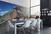 FOX Factory_瑞士商弗克司股份有限公司台灣分公司 【One of the Meeting rooms to showcase our sporty spirits!】