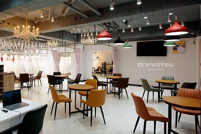 伊頓婚紗工作室_伊頓數位科技有限公司 【來訪的客人都能點上一杯現磨咖啡,在浪漫的空氣中,飄出幸福的味道!】