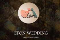 伊頓婚紗工作室_伊頓數位科技有限公司 【logo設計依循理念-尹指的是女孩,靠在了一個男子的身邊, 頓、意指停頓,引伸為停留與依賴的意思。 這也是伊頓婚紗的由來!】