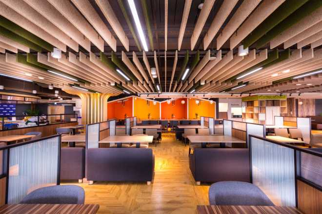 (ASML)台灣艾司摩爾科技股份有限公司 【寬敞的多功能用餐區,每日提供免費中西式午餐】